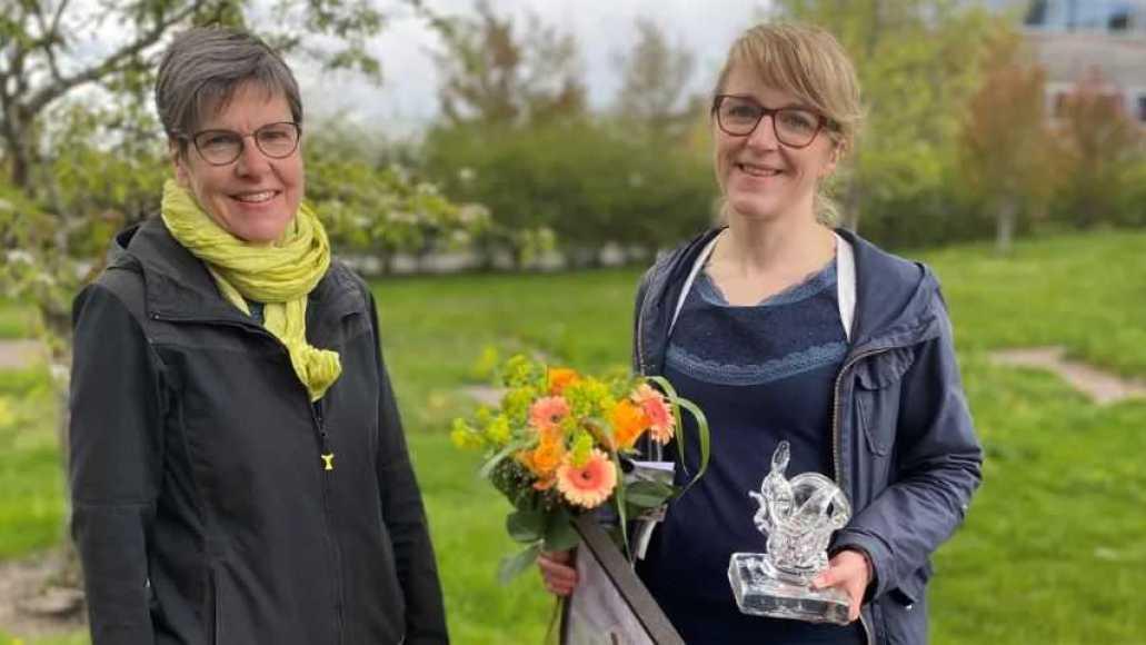 Svenskt Sigills hållbarhetschef vinner SLU Artdatabankens naturvårdspris 1