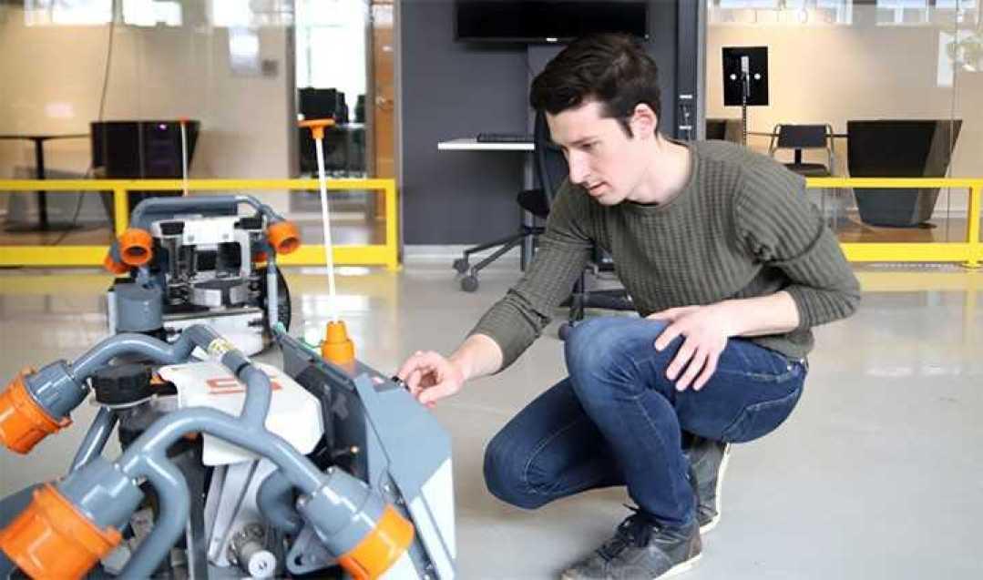 Robotar kan hjälpa företag i regionen 1