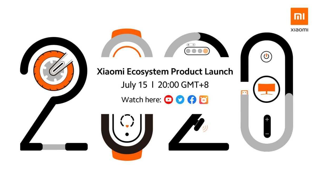 Xiaomis globala lanseringsevent av kommande ekosystemprodukter den 15 juli 1