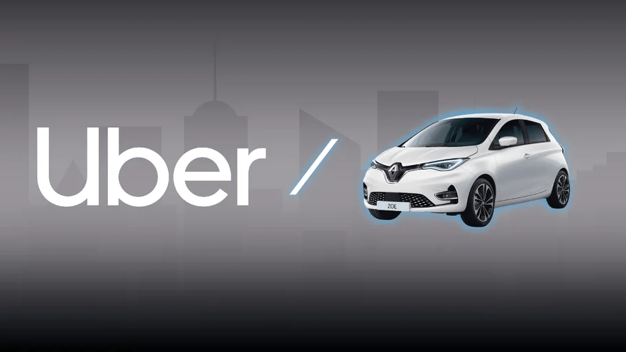 Uber går ihop med Renault och Nissan för att elektrifiera resor i Europa. 1