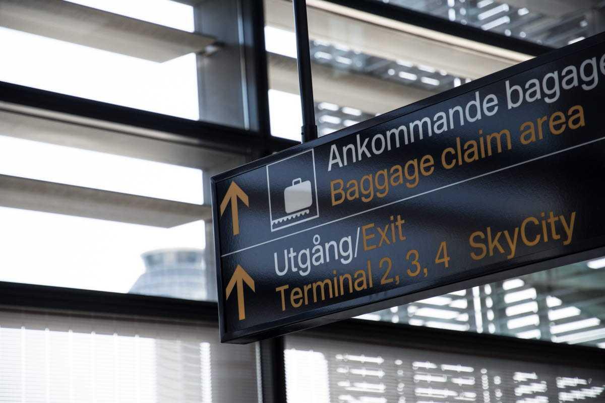 Swedavias trafikstatistik för augusti 2020: flygresandet minskade med 83 procent 1