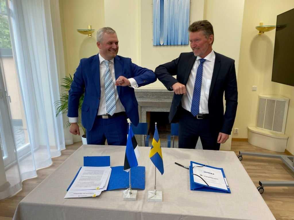 Vattenfall blir minoritetsägare i det estniska kärnkraftsföretaget Fermi Energia