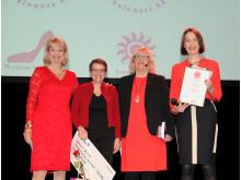 Woman in Red-kampanjen har i 12 år delat ut stipendier till forskning på kvinnohjärtat