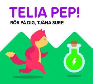 Telia och Generation Pep introducerar app för att förbättra barn och ungas hälsa