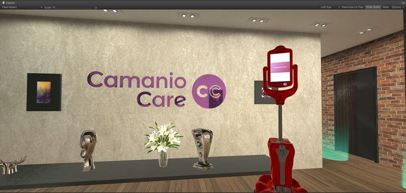 Camanio Care använder Virtual Reality för att visa visioner för digital vård och omsorg i hemmet