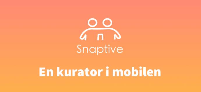 Nu har du en kurator direkt i mobilen