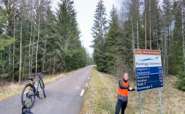 """Simons """"Cykelresa mot Corona"""" en succé - samlade in 31 000 till vården 2"""