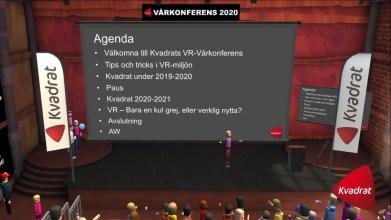 Kvadrat genomförde storkonferens i Virtual Reality 2