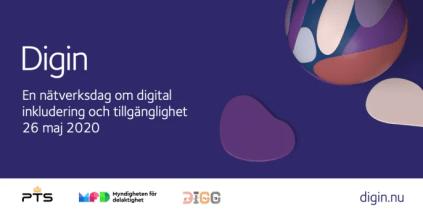 Nätverksdagen Digin blir ett digitalt arrangemang öppet för alla 1