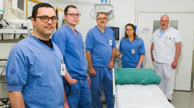 Västerbotten först i världen med ny teknik vid operation av bukspottskörteln
