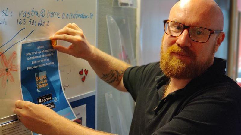 Barncancercentrum lanserar efterlängtad app