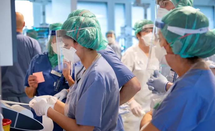 Ingen covidpatient kvar på Danderyds sjukhus