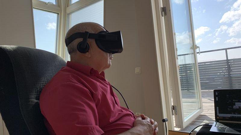 Virtuell verklighet som behandling mot stress och ångest hos äldre
