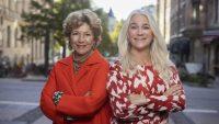 Amelia Adamo och Ann Söderlund vill bidra till ökad kunskap kring underlivet och blir VagiVitals nya ambassadörer