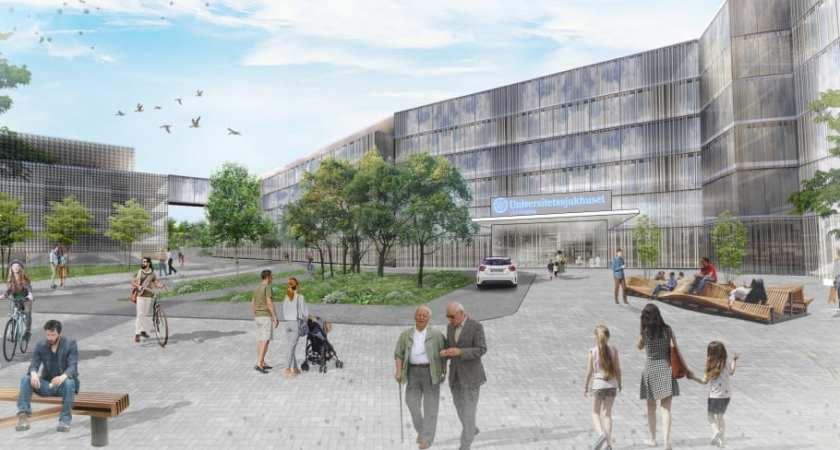 Detaljplan för Linköpings Universitetssjukhus på samråd