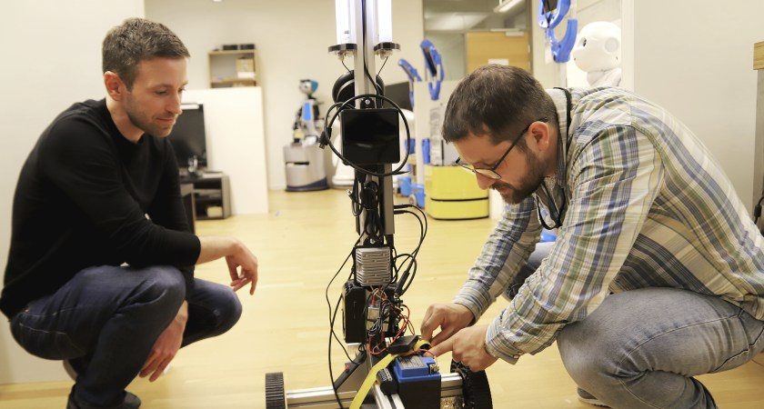 Forskare utvecklar städrobot med UV-ljus