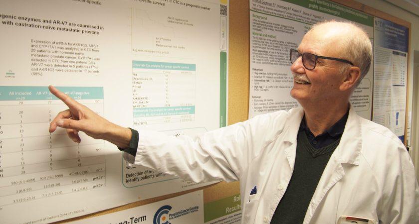 Forskning inom prostatacancer minskar lidande och räddar liv