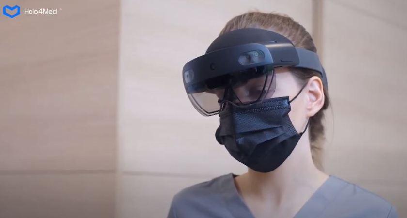Polska Holo4Med, har tagit fram en lösning som underlättar vården och hanteringen av patienter som drabbats av COVID-19