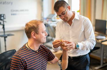 15 MSEK till nytt forskningscentrum i Göteborg när Lundbergs Forskningsstiftelse ger fortsatt stöd till utveckling av tankestyrda proteser 2