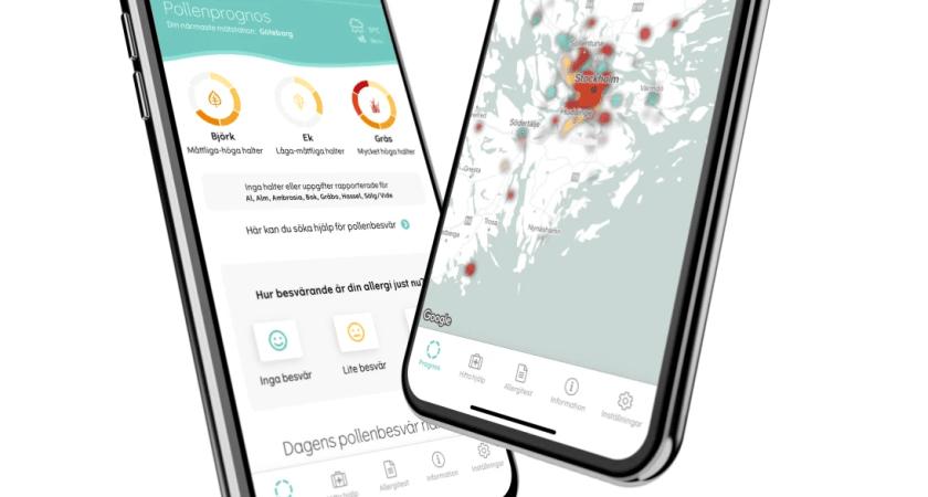 Pollenkoll-appen levererar crowdsourcad koll på lokala pollenbesvär