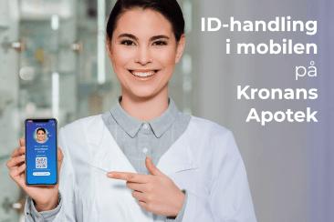 Kronans Apotek accepterar Freja eID för identifiering