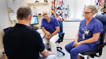 Patienter utredda för cancer nöjda trots pandemin