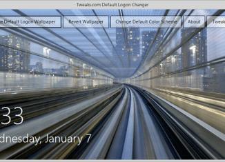 Смена оформления экрана входа в Windows 7, 8