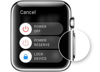 как перезагрузить Apple Watch