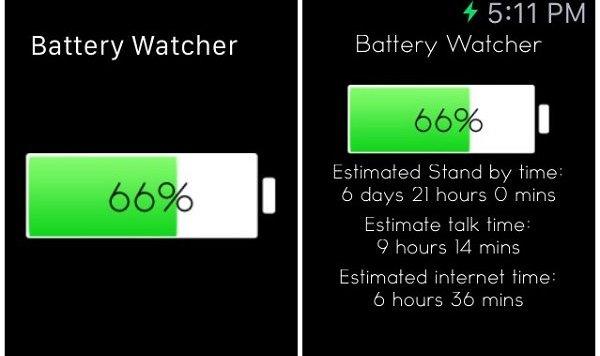 Приложение Battery Watcher App