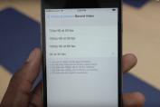 1 минута видео в 4k iphone 6s