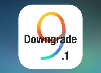 Даунгрейд ios 9.1