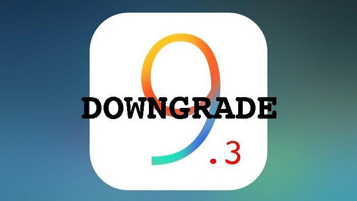 откат iOS 9.3 на iOS 9.2.1