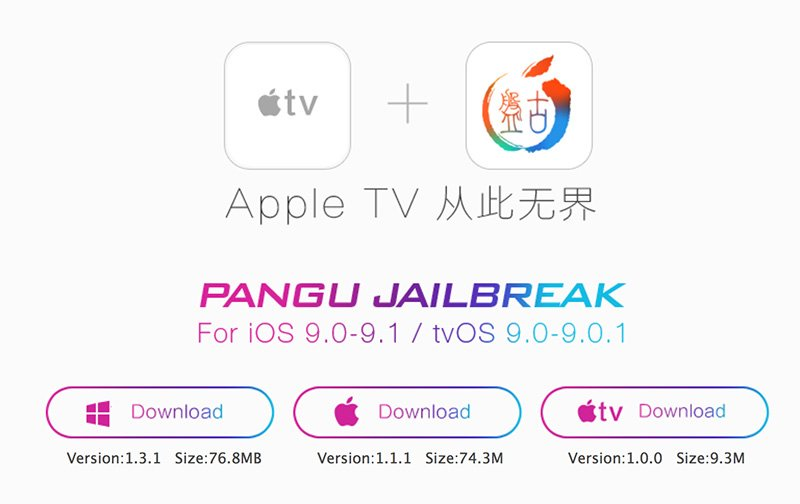 Pangu Джейлбрейк Apple TV 4