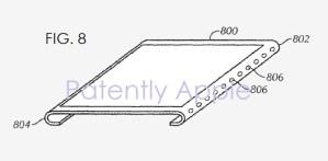Компания Apple получила патенты на безрамочный дисплей и встроенный в экран Touch ID