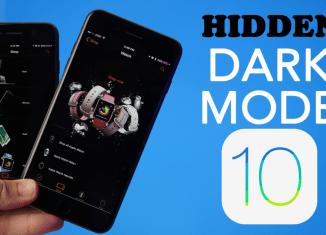 HiddeniOS10DarkMode