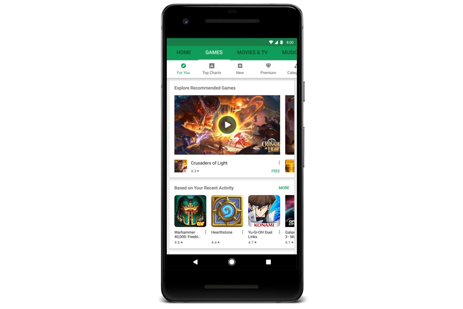 ВGoogle Play внедрили функцию запуска приложений без ихустановки