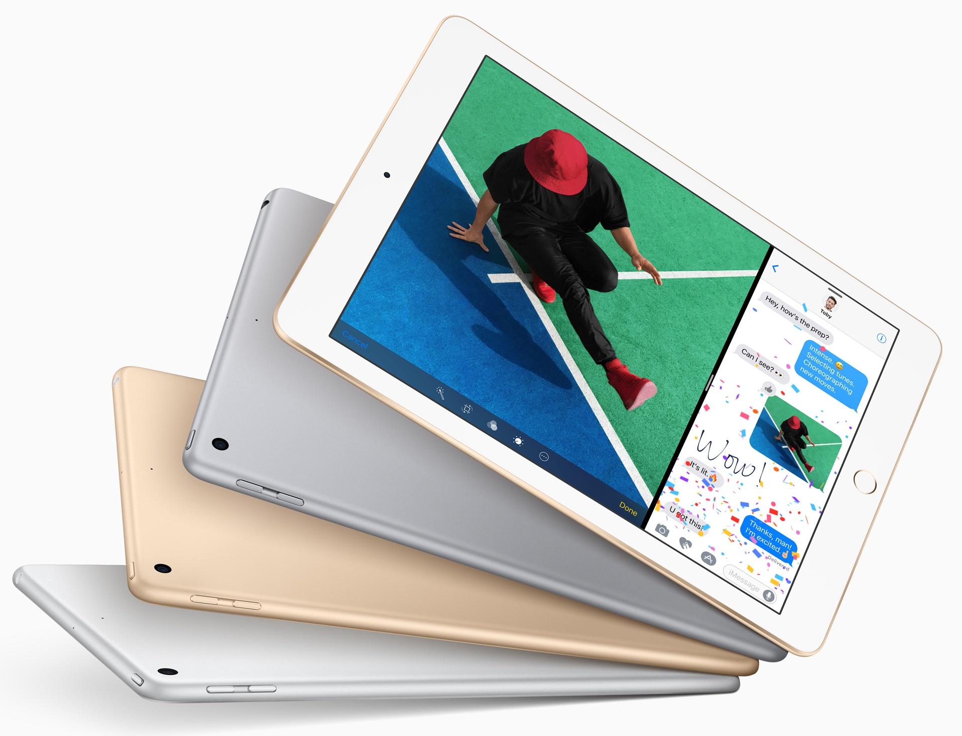 Apple выпустит недорогой планшет в 2018г