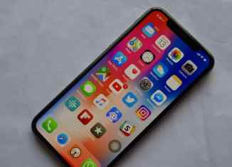iPhone-X-Home-screen-