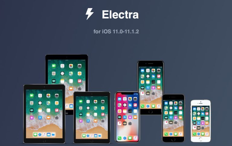 How to install jailbreak Electra for iOS 11 - 11.1.2 with Cydia support