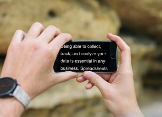 Landscape-Teleprompter-iPhone