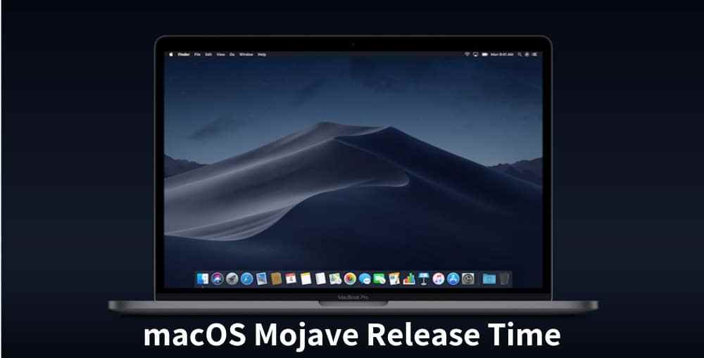macOS-Mojave-Release-Time