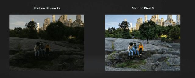 Pixel-3-iPhone-XS-night-sight