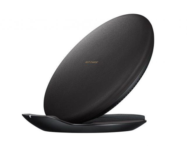 samsung-black-round-wireless-charging-pad-643×500