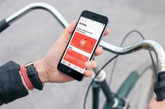 Health-App-on-iPhone-Riding-Bike