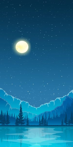 icy-water-mountain-moon-green-background-iphone-wallpaper-ongliong11-768×1536