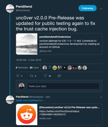 unc0ver-v200-update-Sunday
