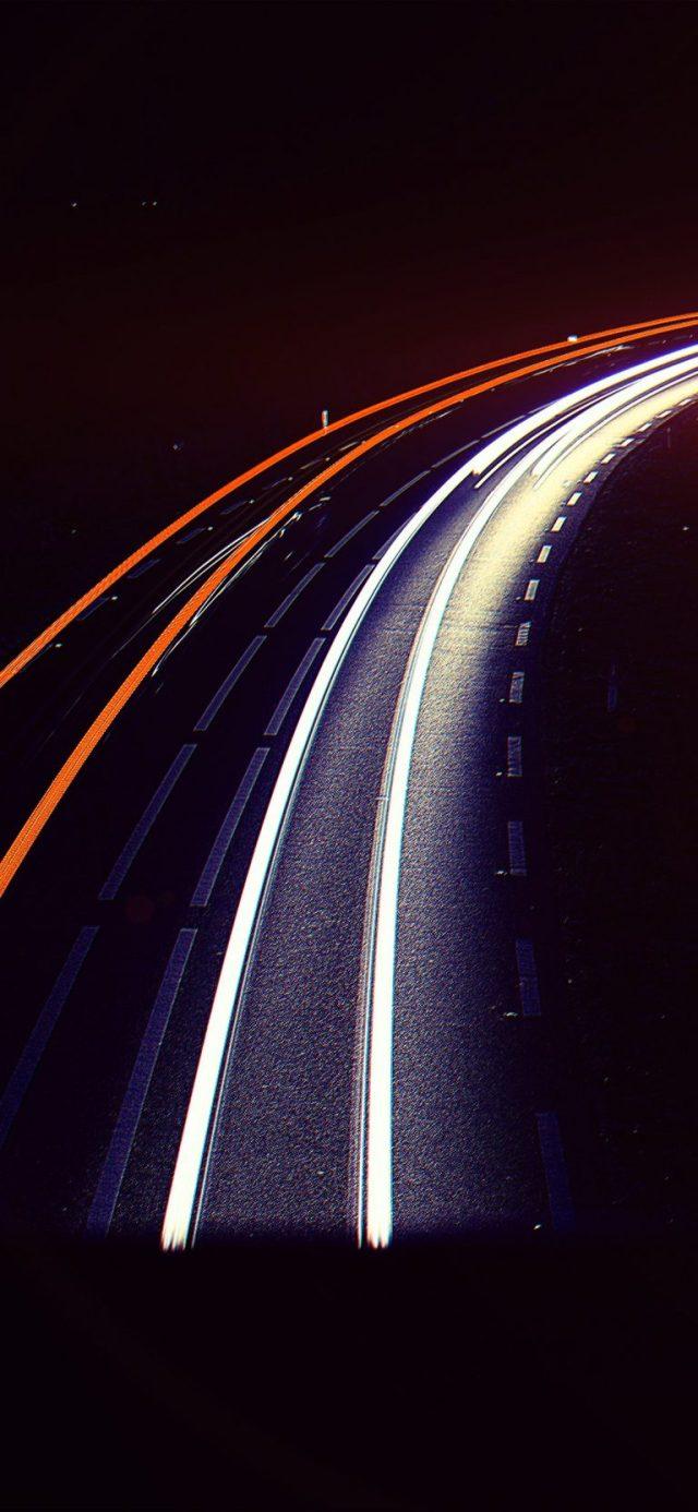 road-night-car-street-light-blue-dark-flare-iphone-X-768×1663