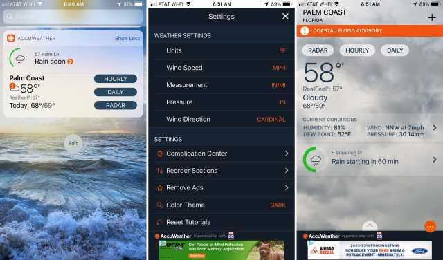 Widget-Weather-Radar-AccuWeather-on-iPhone