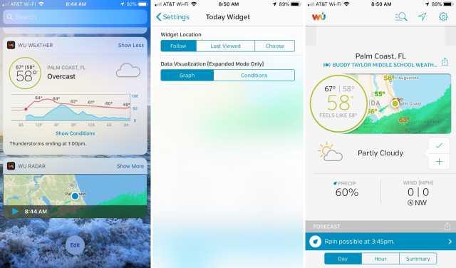 Widget-Weather-Underground-Forecast-on-iPhone