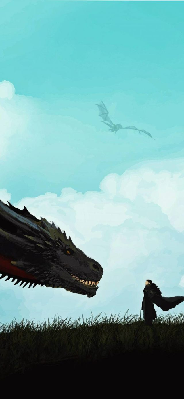 jon-snow-and-khalessi-dragon-iphone-game-of-thrones-wallpaper-768 × 1663
